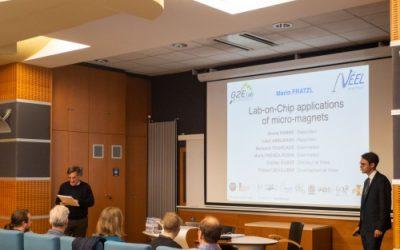 Mario Fratzl defends his PhD
