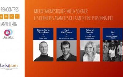 Paul Kauffmann, dirigeant de MagIA diagnostics parle de médecine personnalisée